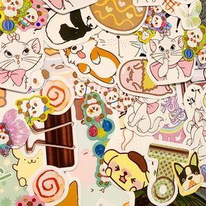 50 kawaii sticker mystery bag
